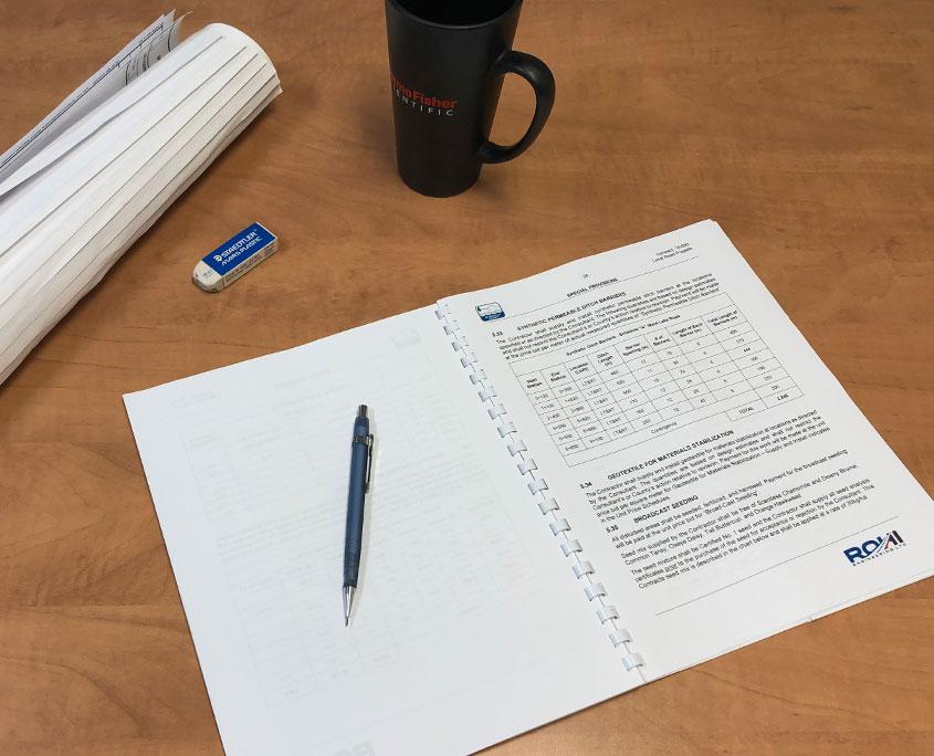 ROHI Engineering tendering document