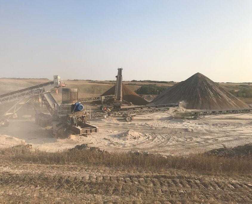 Gravel Prospecting and Testing