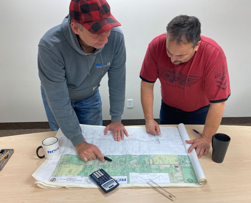 Review of project documents ROHI Engineering Randall and Glen
